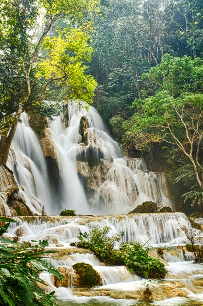 Kwan Si Waterfall, Luang Prabang, Laos
